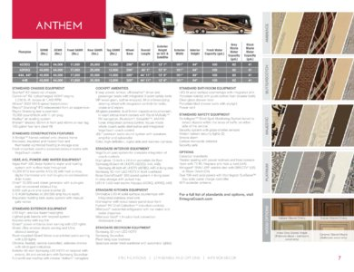 2018 Entegra Coach Full Line Brochure page 7