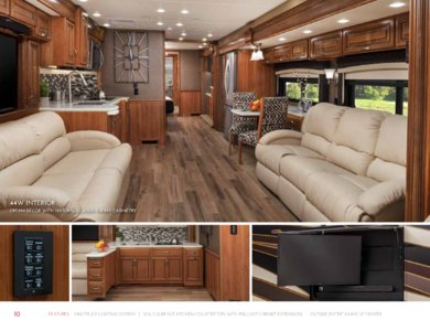 2018 Entegra Coach Full Line Brochure page 10
