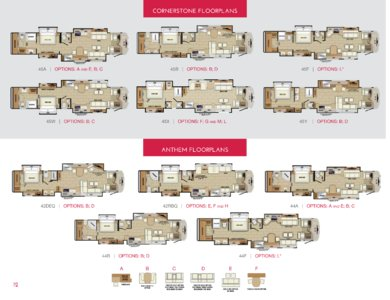 2018 Entegra Coach Full Line Brochure page 12