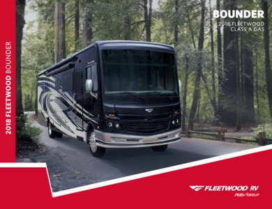 2018 Fleetwood Bounder Brochure page 1