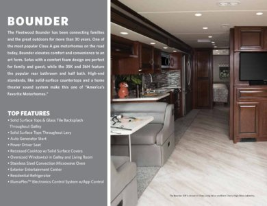2018 Fleetwood Bounder Brochure page 2