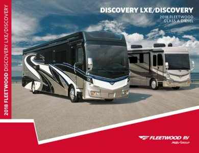 2018 Fleetwood Discovery Brochure page 1