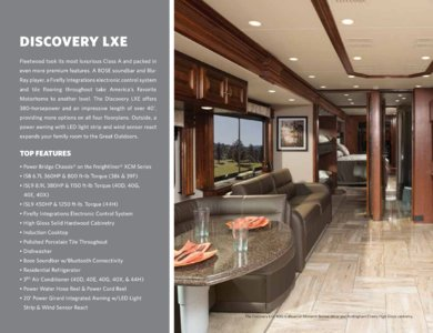 2018 Fleetwood Discovery Brochure page 6