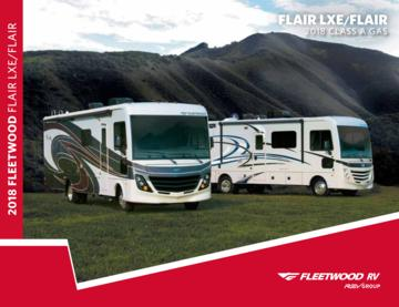 2018 Fleetwood Flair Brochure