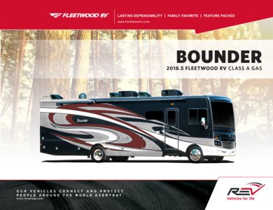 2018 Fleetwood New Bounder Brochure page 1