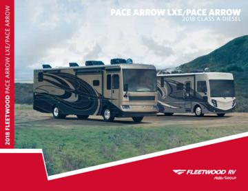 2018 Fleetwood Pace Arrow Brochure