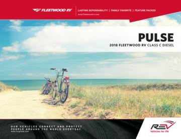 2018 Fleetwood Pulse Brochure
