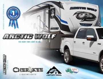 2018 Forest River Arctic Wolf Brochure