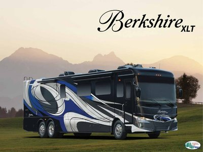 2018 Forest River Berkshire XLT Brochure page 1