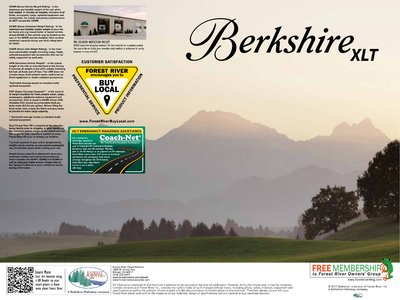 2018 Forest River Berkshire XLT Brochure page 12