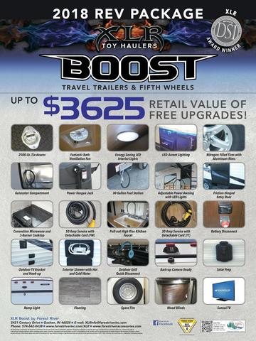 2018 Forest River Boost XLR Poster