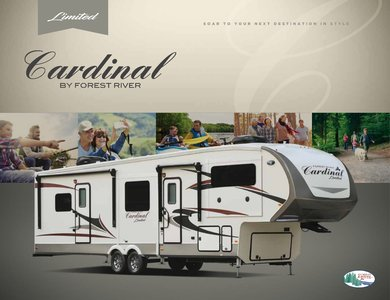 2018 Forest River Cardinal Limited Brochure page 1