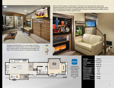 2018 Forest River Cedar Creek Champagne Brochure page 7