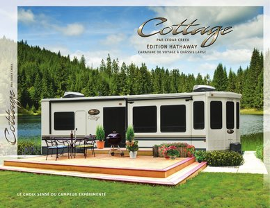 2018 Forest River Cedar Creek Cottage French Brochure page 1