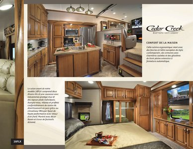 2018 Forest River Cedar Creek Hathaway Edition French Brochure page 9