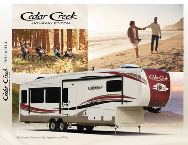 2018 Forest River Cedar Creek Hathaway Edition Brochure page 1