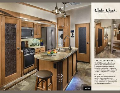 2018 Forest River Cedar Creek Hathaway Edition Brochure page 6