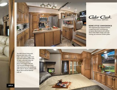 2018 Forest River Cedar Creek Hathaway Edition Brochure page 9