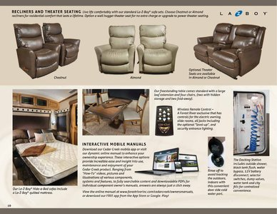 2018 Forest River Cedar Creek Hathaway Edition Brochure page 10