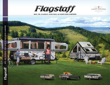 2018 Forest River Flagstaff Tent Brochure