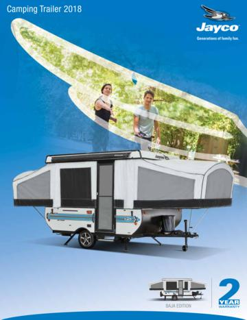 2018 Jayco Camping Trailer Brochure