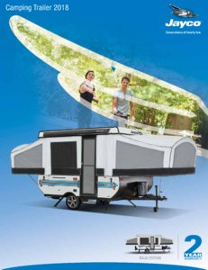 2018 Jayco Camping Trailer Brochure page 1
