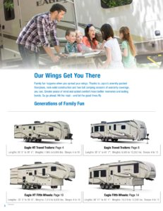 2018 Jayco Eagle Brochure page 2