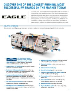 2018 Jayco Eagle Brochure page 3