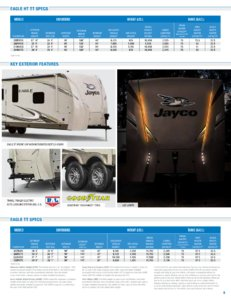 2018 Jayco Eagle Brochure page 9