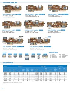 2018 Jayco Eagle Brochure page 16