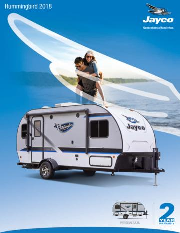2018 Jayco Hummingbird French Brochure