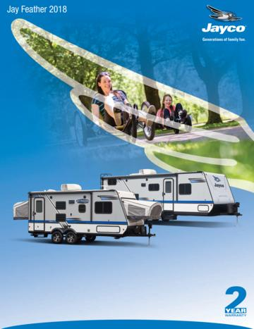 2018 Jayco Jay Feather French Brochure