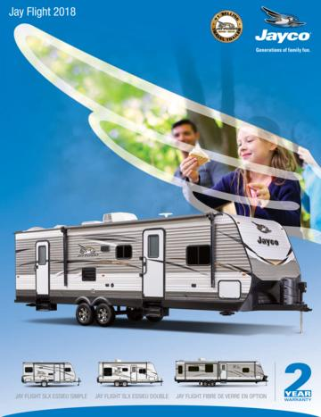 2018 Jayco Jay Flight French Brochure