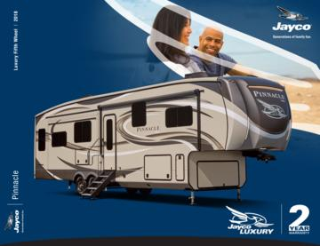 2018 Jayco Pinnacle Brochure