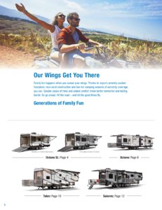 2018 Jayco Toy Haulers Brochure page 2