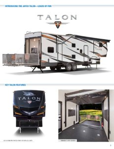2018 Jayco Toy Haulers Brochure page 3