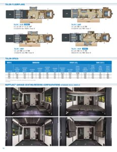 2018 Jayco Toy Haulers Brochure page 14