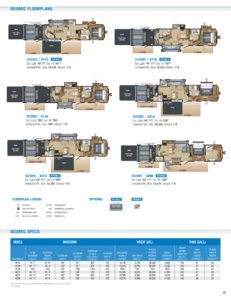 2018 Jayco Toy Haulers Brochure page 15