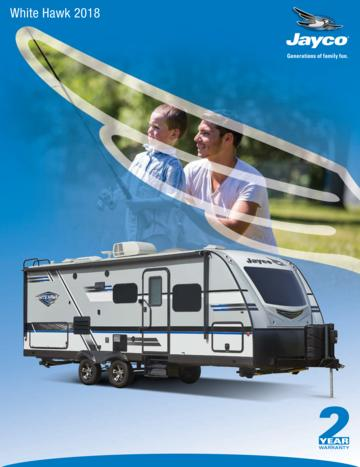 2018 Jayco White Hawk Brochure