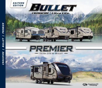 2018 Keystone Rv Bullet Eastern Edition Brochure page 1