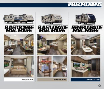2018 Keystone Rv Bullet Eastern Edition Brochure page 3