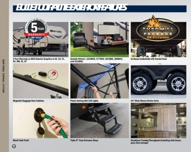 2018 Keystone Rv Bullet Eastern Edition Brochure page 8