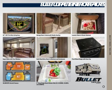 2018 Keystone Rv Bullet Eastern Edition Brochure page 9