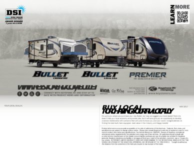 2018 Keystone Rv Bullet Eastern Edition Brochure page 20