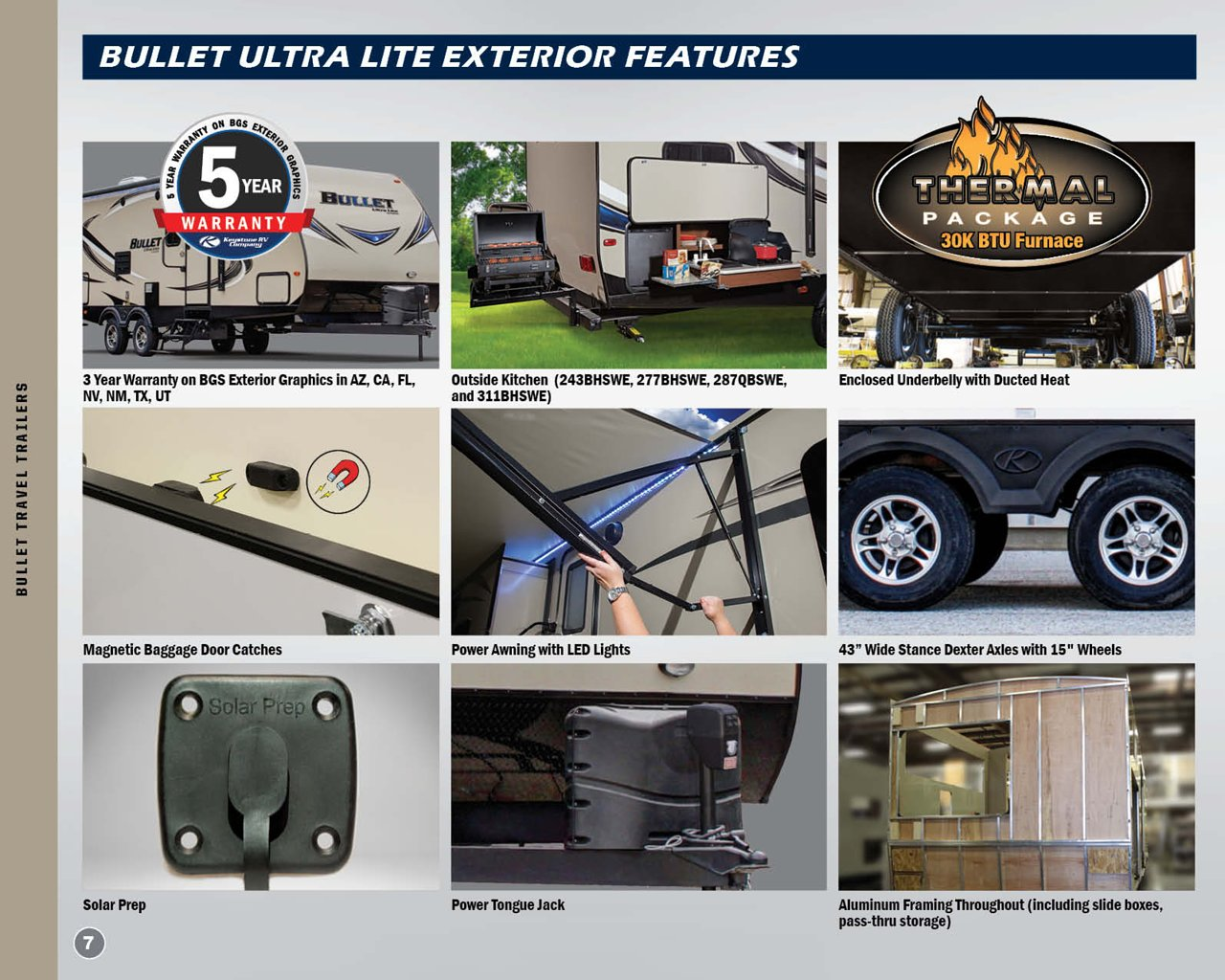 2018 Keystone Rv Bullet Western Edition Brochure | Download
