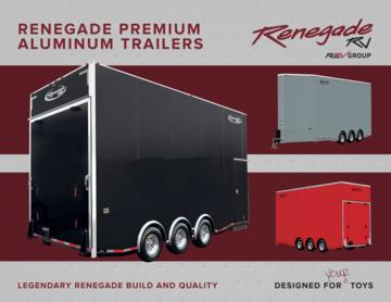 2018 Renegade Aluminum Trailers Brochure