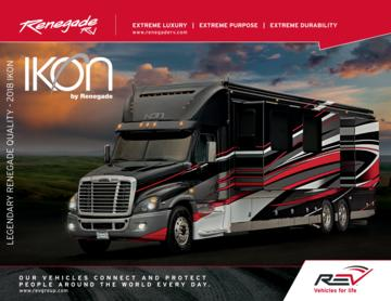 2018 Renegade Ikon Brochure