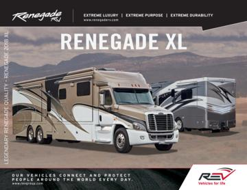 2018 Renegade XL Brochure