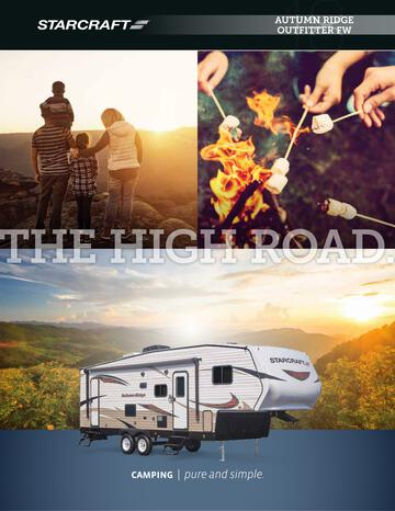2018 Starcraft Autumn Ridge Outfitter Fifth Wheel Brochure