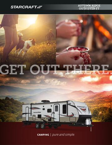 2018 Starcraft Autumn Ridge Outfitter Travel Trailer Brochure